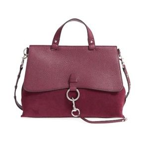 NWT! Rebecca Minkoff Keith Medium Satchel Acai